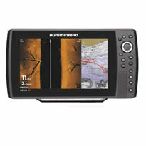 Humminbird Helix 10 Chirp with Fishing Charts and Maps