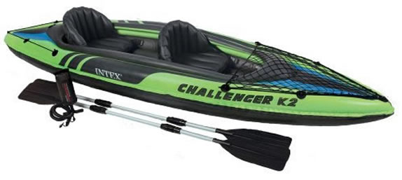 Intex Challenger 2 Man Kayak